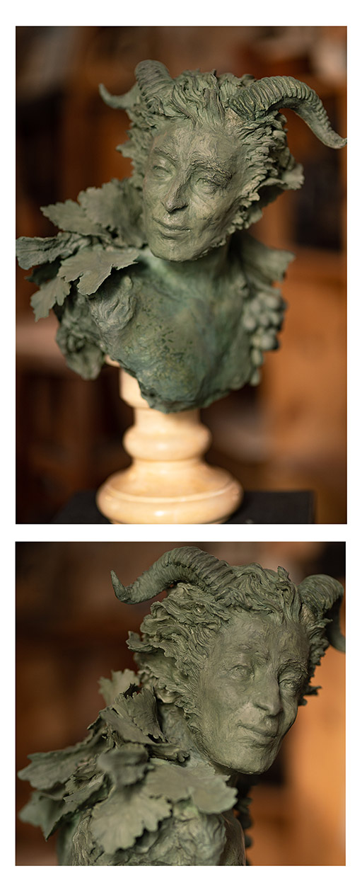 buste de Faune